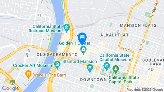 Kimpton Sawyer Hotel Map