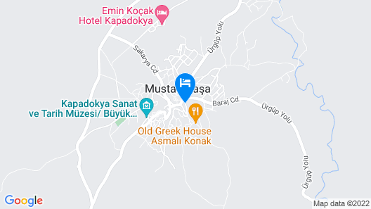Helios Cave Hotel Map