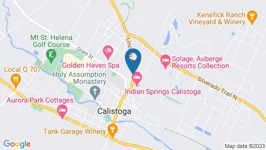 Cottage Grove Inn Map