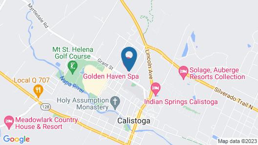 Golden Haven Hot Springs Map
