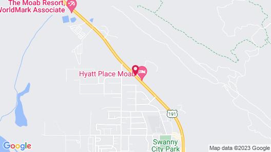Super 8 by Wyndham Moab Map