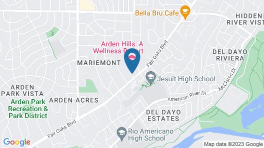 Arden Hills Map
