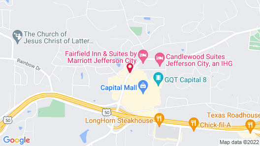 Fairfield Inn & Suites by Marriott - Jefferson City Map