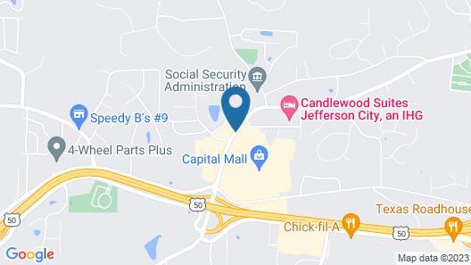 Fairfield Inn & Suites by Marriott - Jefferson City Map