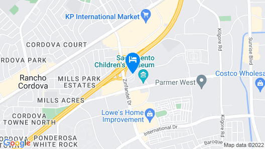 Hyatt Place Sacramento/Rancho Cordova Map