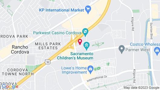 Fairfield Inn & Suites Rancho Cordova Map