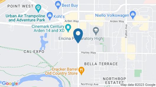 Arden Star Hotel Map