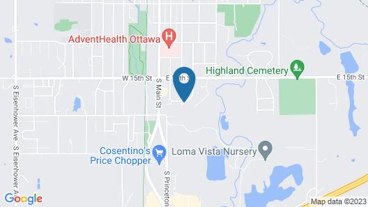 Super 8 by Wyndham Ottawa Map
