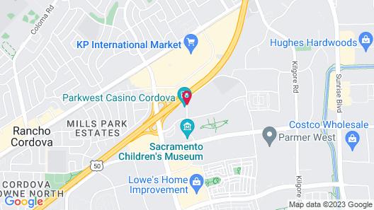Residence Inn by Marriott Sacramento Rancho Cordova Map