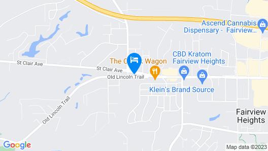Trailway Motel Map
