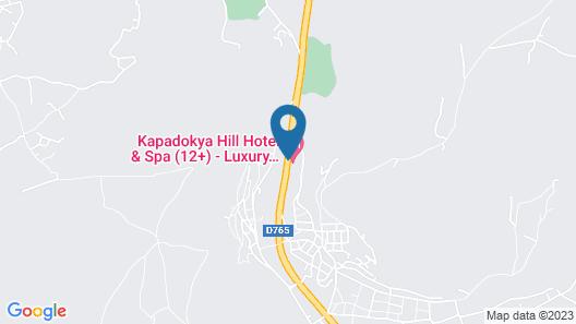 Kapadokya Hill Hotel & Spa (12+) Map
