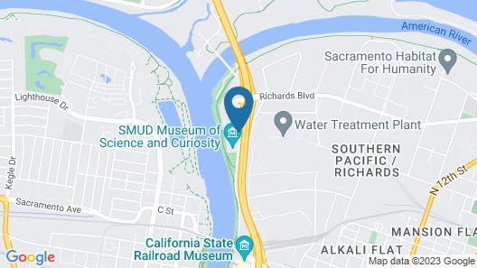Best Western Sandman Hotel Map