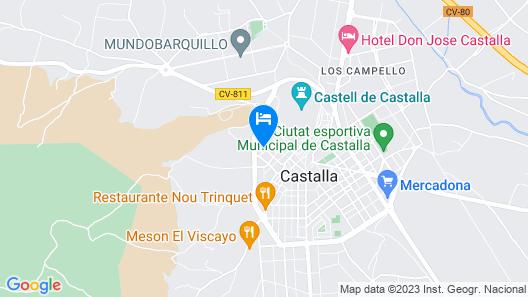 Casa Rural Casole Map