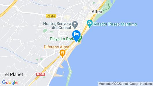 Altaia Hotel Map