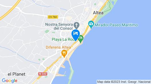 Gran H La Marina Map