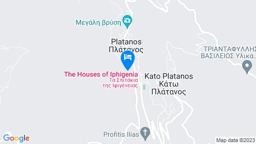 Spitakia Ifigenias Map