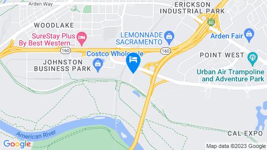 Fairfield Inn by Marriott Sacramento Cal Expo Map