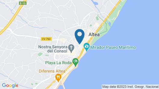 Hotel Boutique La Serena Map