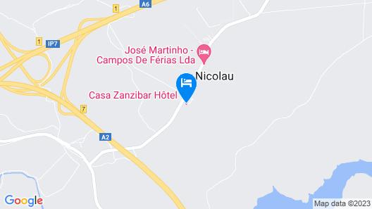 Casa Zanzibar Map