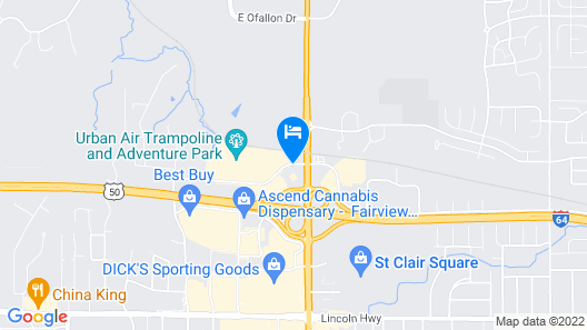 Drury Inn & Suites St. Louis Fairview Heights Map