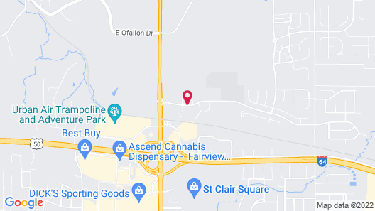 Four Points by Sheraton St Louis - Fairview Heights Map