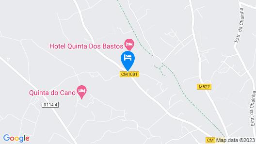 Hotel Quinta dos Bastos Map