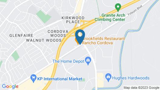 La Quinta Inn & Suites by Wyndham Rancho Cordova Sacramento Map