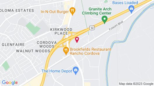Holiday Inn Rancho Cordova, an IHG Hotel Map