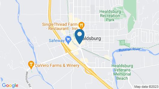 h2hotel Map