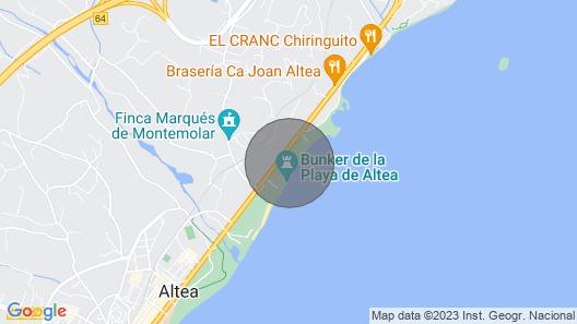 Apartment Bahia Blanca in Altea - 6 Persons, 3 Bedrooms Map