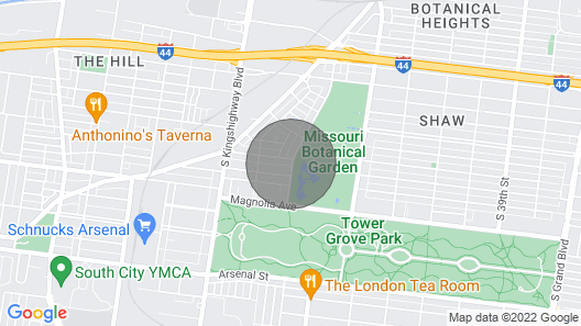 Luxurious Townhome Next to Botanical Gardens JZ Vacation Rentals Map