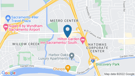 Residence Inn by Marriott Sacramento Airport Natomas Map