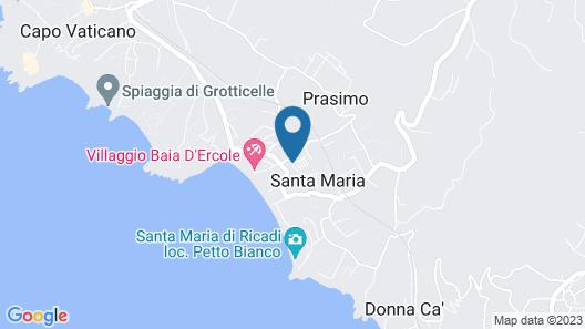 Club Residence Villaggio Smedile Map