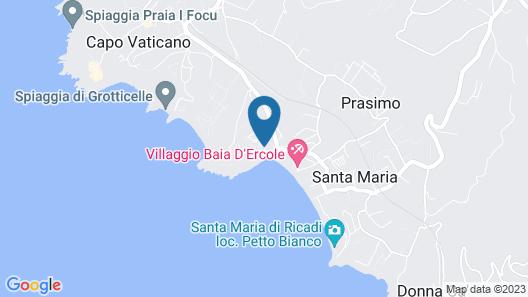 Villaggio Residence Marina del Capo Map