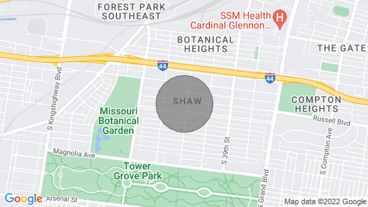 Designer Home in Shaw Left Side by JZ Vacation Rentals Map
