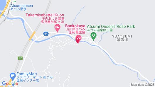 Bankokuya Map