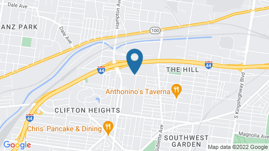 Red Roof Inn PLUS+ St Louis - Forest Park/ Hampton Ave Map