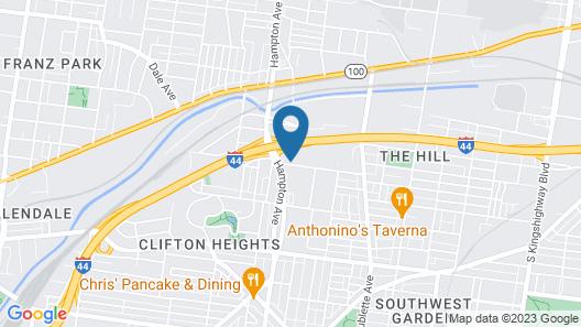 Holiday Inn St. Louis - Forest Park, an IHG Hotel Map