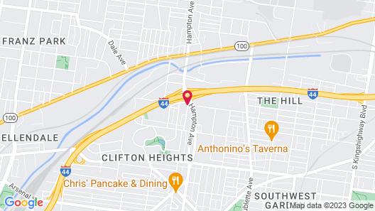Drury Inn & Suites St. Louis Forest Park Map