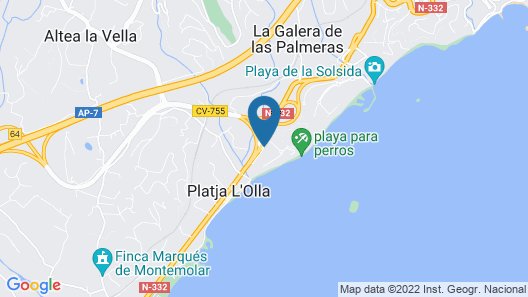 SH Villa Gadea Map