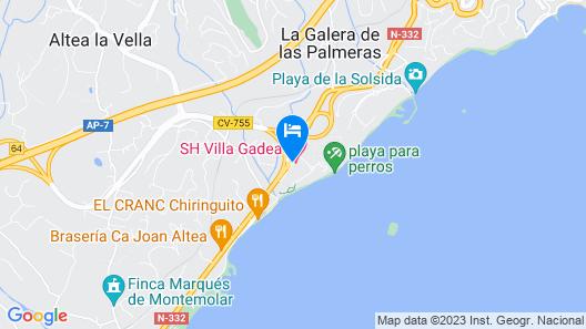 SH Villa Gadea Map