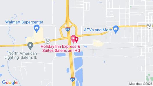 Holiday Inn Express & Suites Salem, an IHG Hotel Map