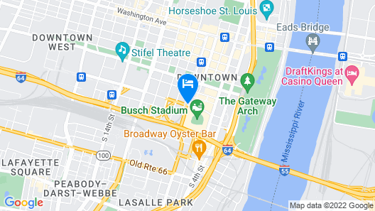 Live by Loews - St.Louis Map