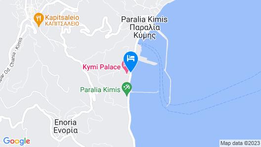 Kymi Palace Hotel Map