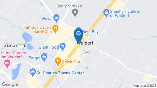 Courtyard Marriott Waldorf Map