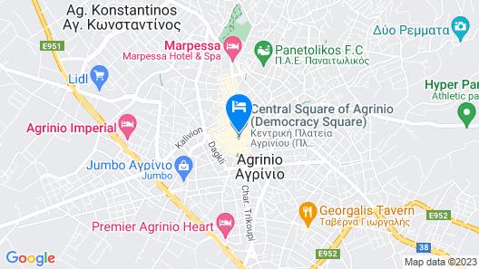 Leto Boutique Hotel Map