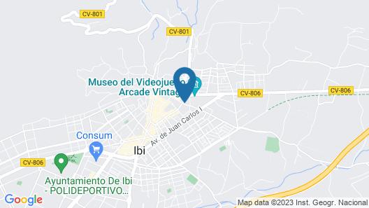Casa Rosalia Map