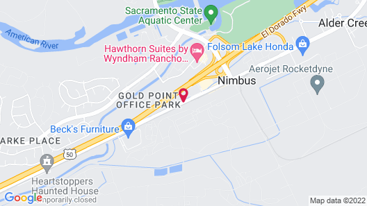 Comfort Inn & Suites Rancho Cordova-Sacramento Map