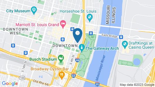 City Place St. Louis Downtown Map