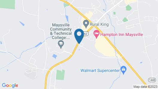 Super 8 by Wyndham Maysville KY Map